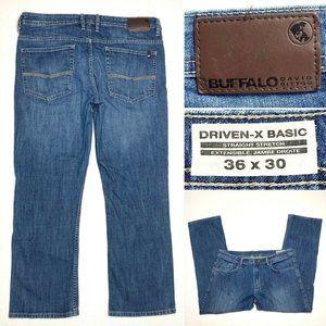 Buffalo Driven-X Basic Straight Stretch Mens Jeans